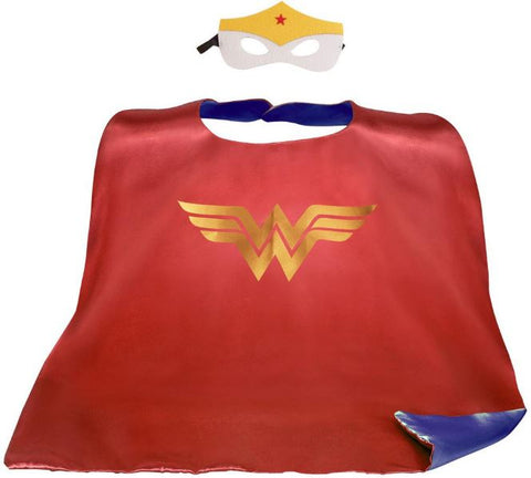 Cape & Mask Set - Large - Wonder Woman