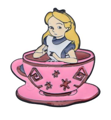 Badge - Disney - Alice in Teacup
