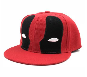 Cap - Deadpool - Red with Red Brim