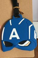 Luggage Tag - Captain America Mask