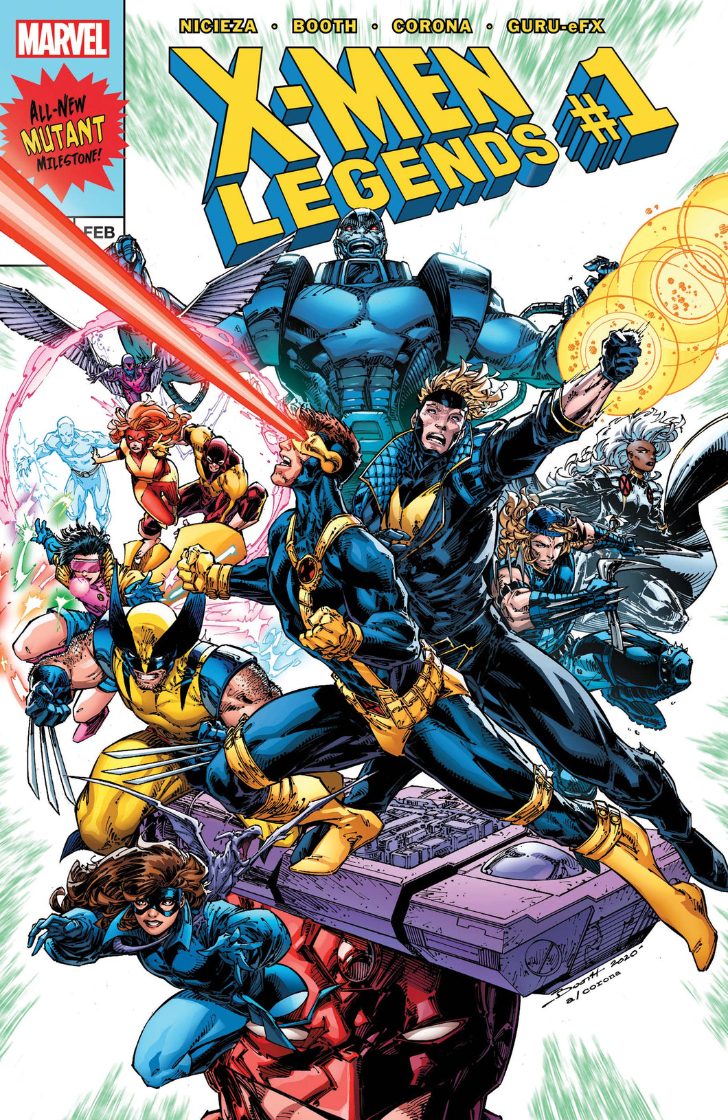 Comic - X-men Legends #1