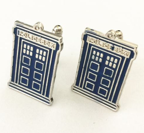 Cufflinks - Doctor Who - Tardis