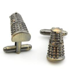 Cufflinks - Doctor Who - Dalek