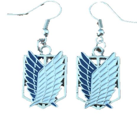 Earrings - Attack on Titan