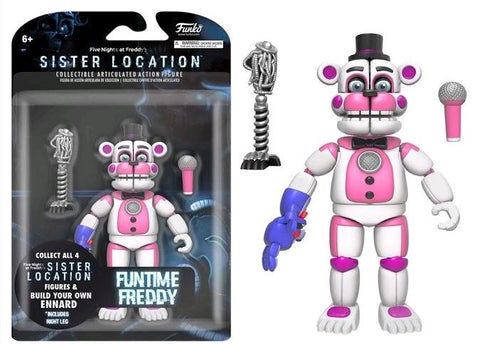 "Action Figure - Five Nights at Freddy's - Funtime Freddy 5"" Articulated Action Figure"