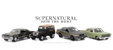 Car - Supernatural - 1:64 Hollywood Film Reels Series 5A