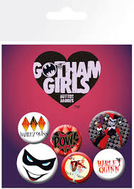 Badge - Gotham Girls 5pk