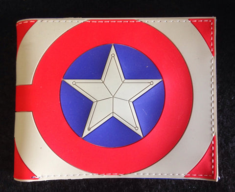 Wallet - Captain America (silicon type)