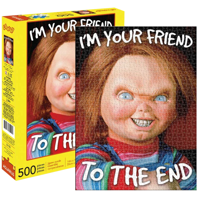 Puzzle - Horror - Chucky - I'm your friend to the end - 500pc jigsaw