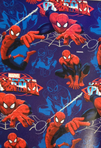 Wrapping Paper Folded - Spiderman