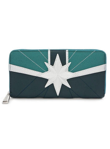 Loungefly - Captain Marvel - Star Emblem Wallet