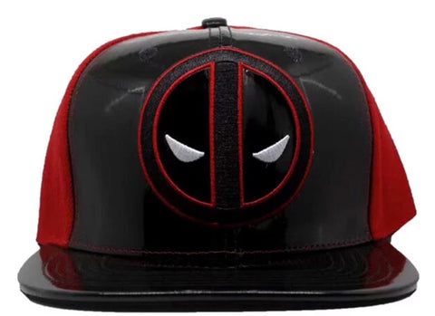 Cap - Deadpool Black & Red with Logo