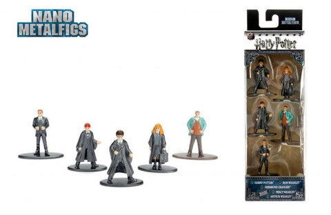 Nano Metalfigs - Harry Potter Five Pack (set 1)