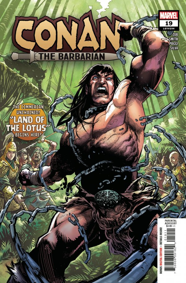 Comic - Conan the Barbarian #19
