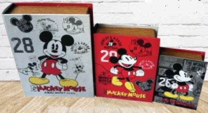 Book Storage Box - Mickey Mouse