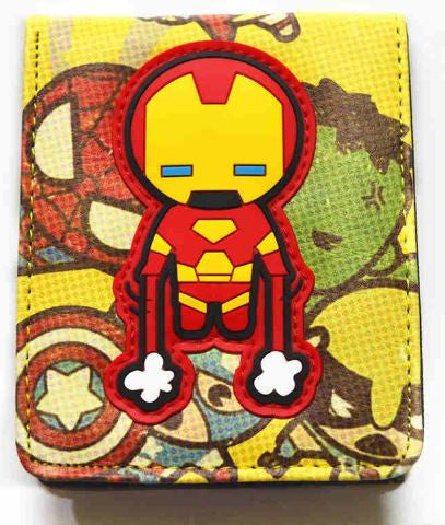 Wallet - Ironman Cartoon