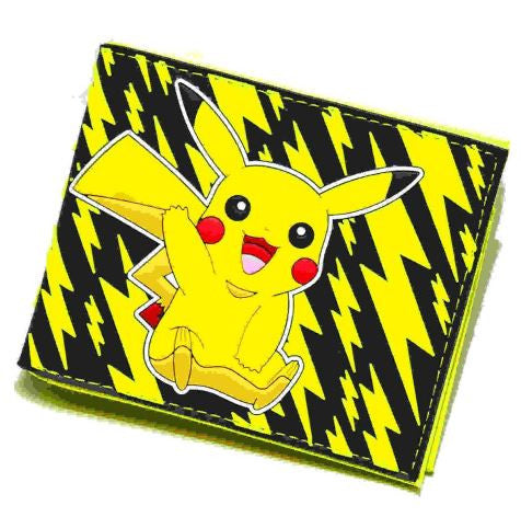 Wallet - Pikachu Lightning Bolts - Pokemon