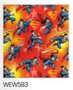 Wrapping Paper Folded - Superman
