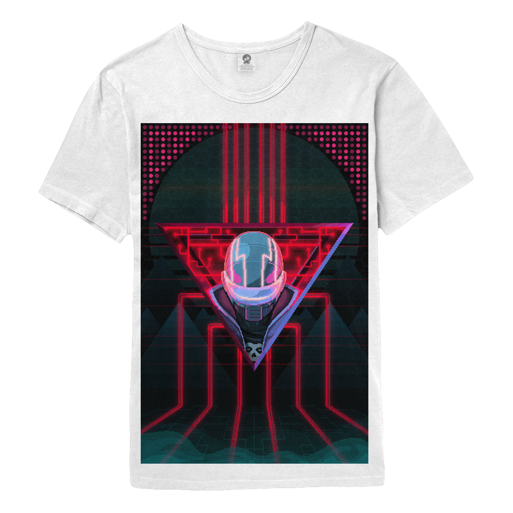 Like Totally x Jason Tammemagi Cybercharge Tee