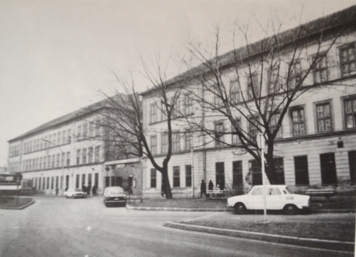 The building in the 1970s