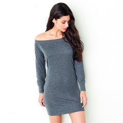 Lightweight sweater dress