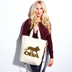 Gold Pearle Canvas day bag