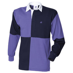 Quartered rugby shirt