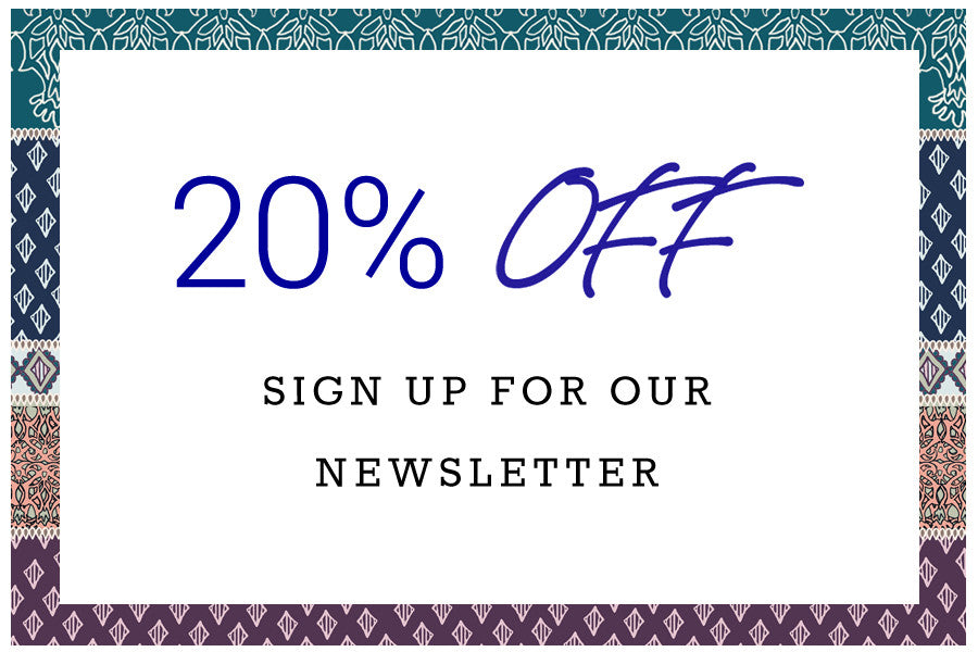 20% Off   Sign Up For Our Newsletter