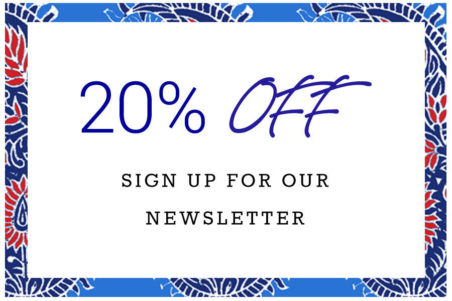 20% Off | Sign Up For Our Newsletter