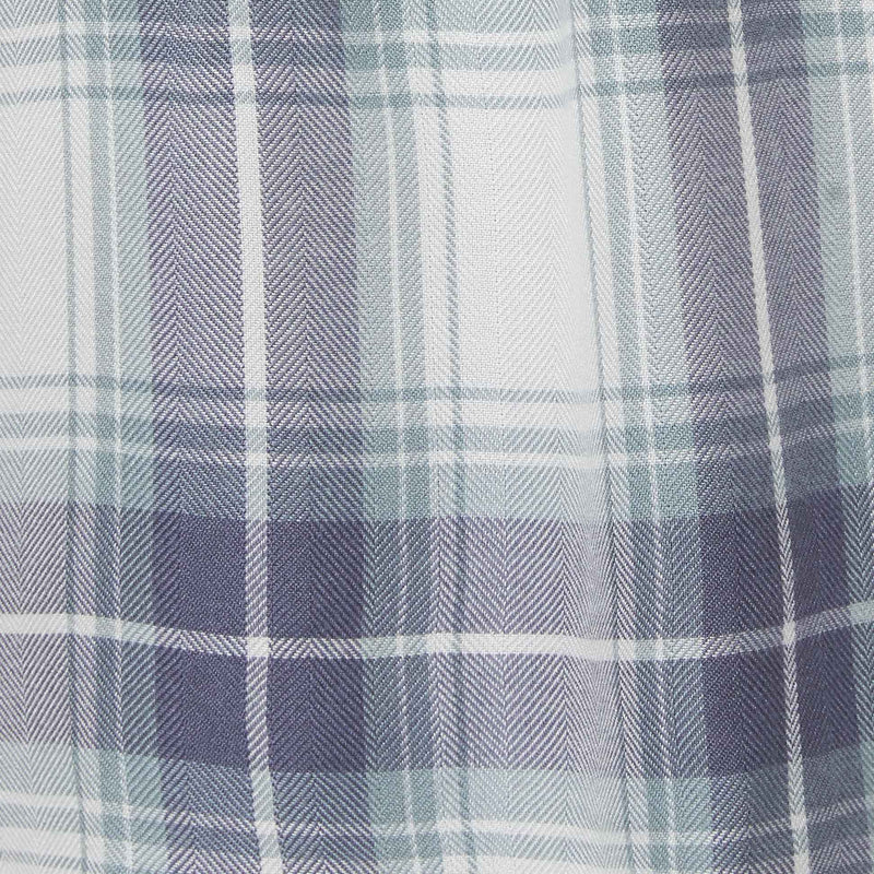 white, green and blue plaid