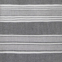 grey and white horizontal stripes