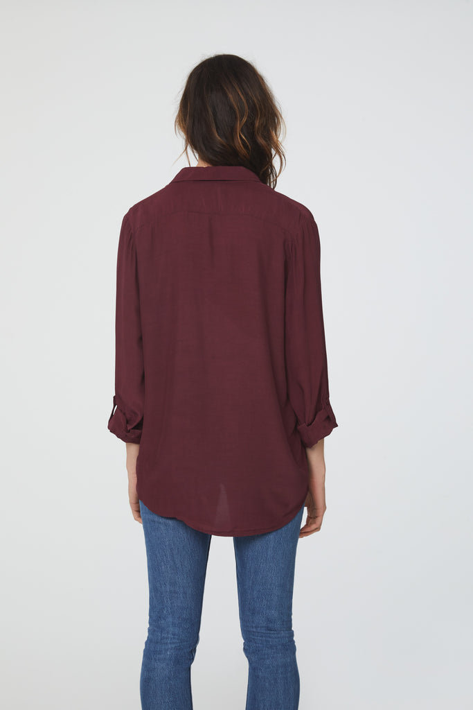 EMMA SHIRT - BORDEAUX