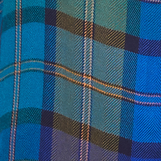 blue and yellow plaid fabric textile