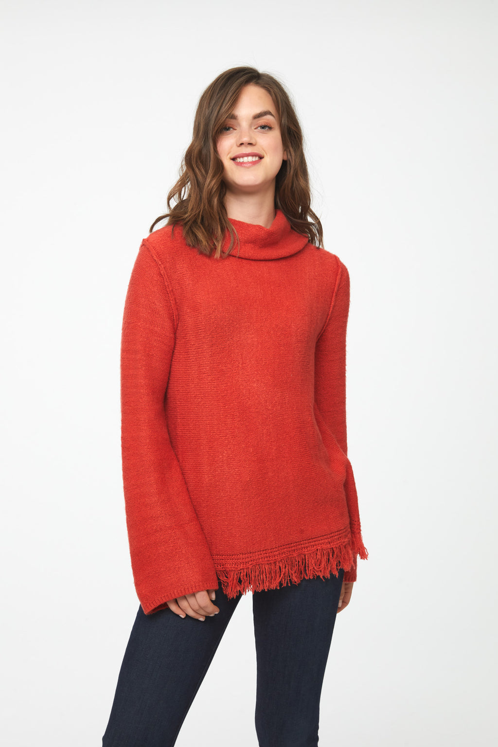 SEDONA SWEATER - RUST