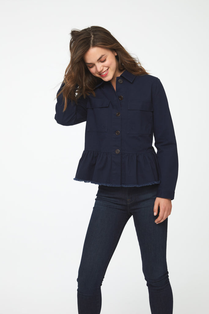 VIVIAN JACKET - DARK INDIGO