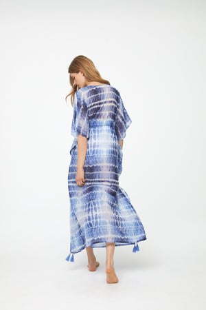 WILLOW COVER-UP - AEGEAN