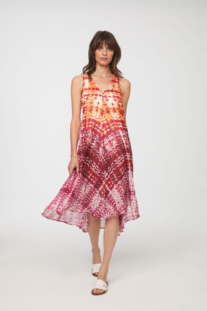 MAXWELL BEACH COVER UP - CORAL