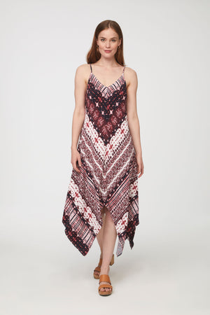 TREY DRESS - ROSSOLA