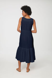 LEXA DRESS - NAVY