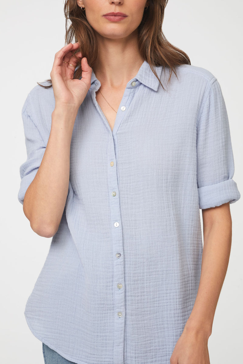 JAMES SHIRT - SAIL BLUE