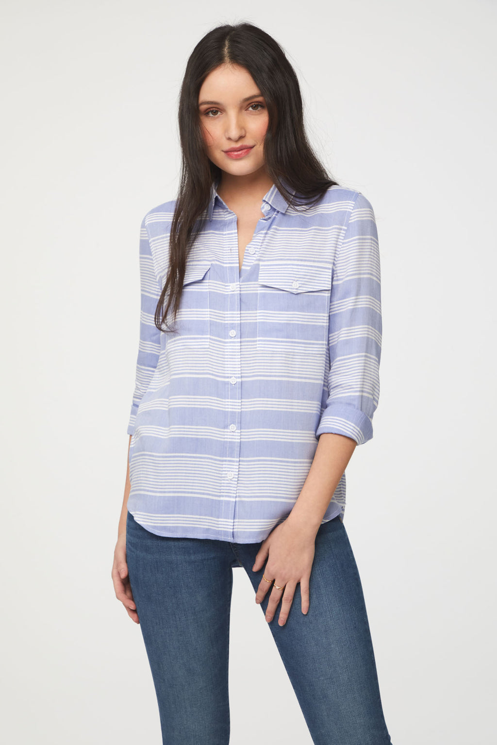 FRANKIE SHIRT - BLISS BLUE