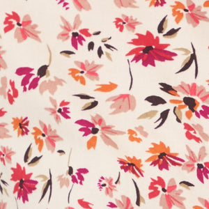 pink cosmos floral pattern