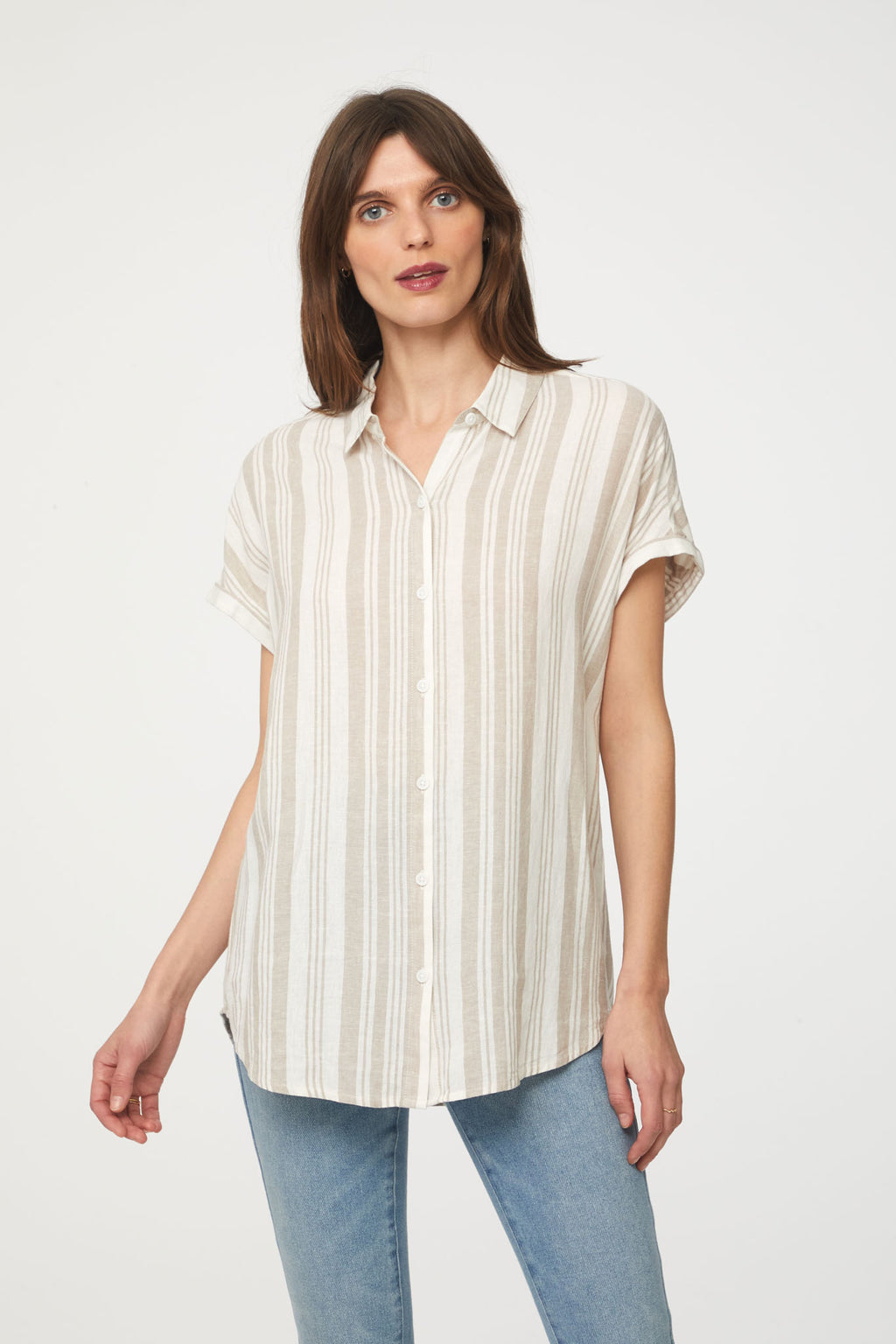 SPENCER SHIRT - SAND SHELL