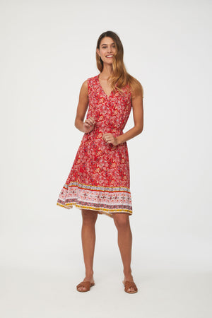 LOU LOU DRESS - VENETIAN RED