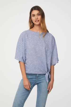 LUCY TOP - CERULEAN