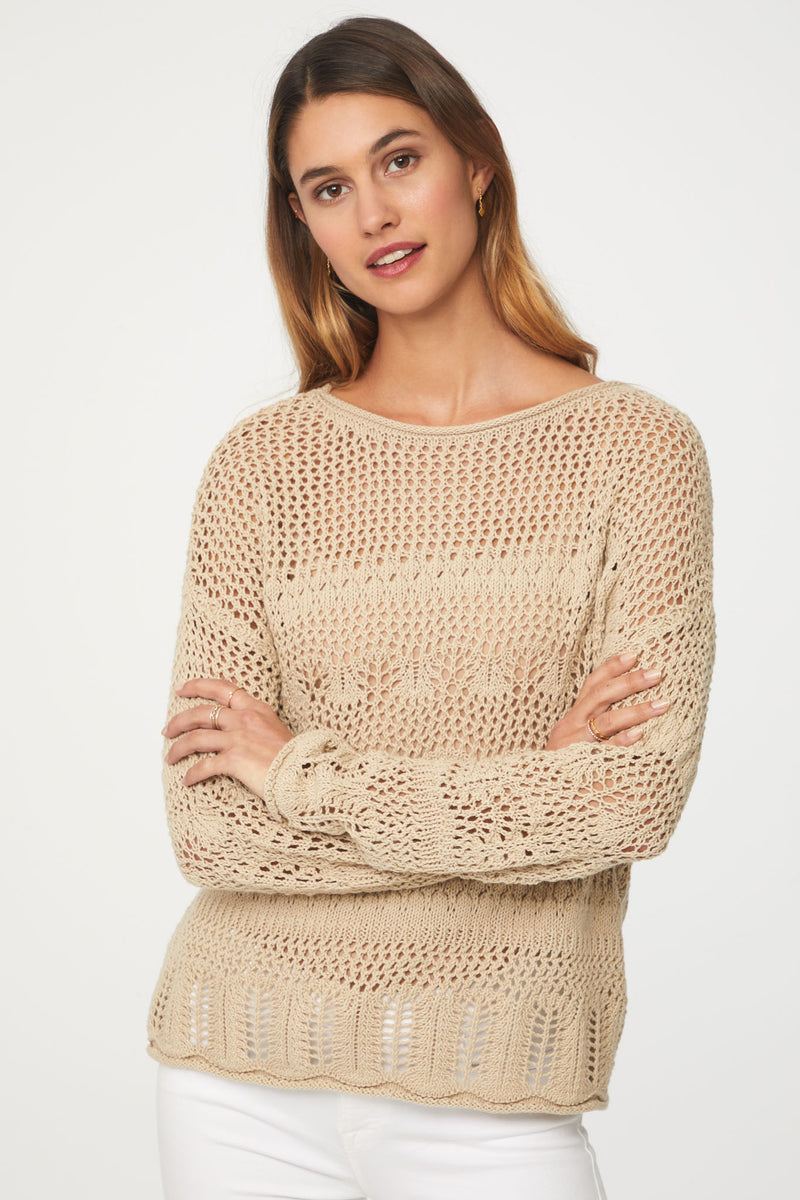 TATIANA SWEATER - LINEN