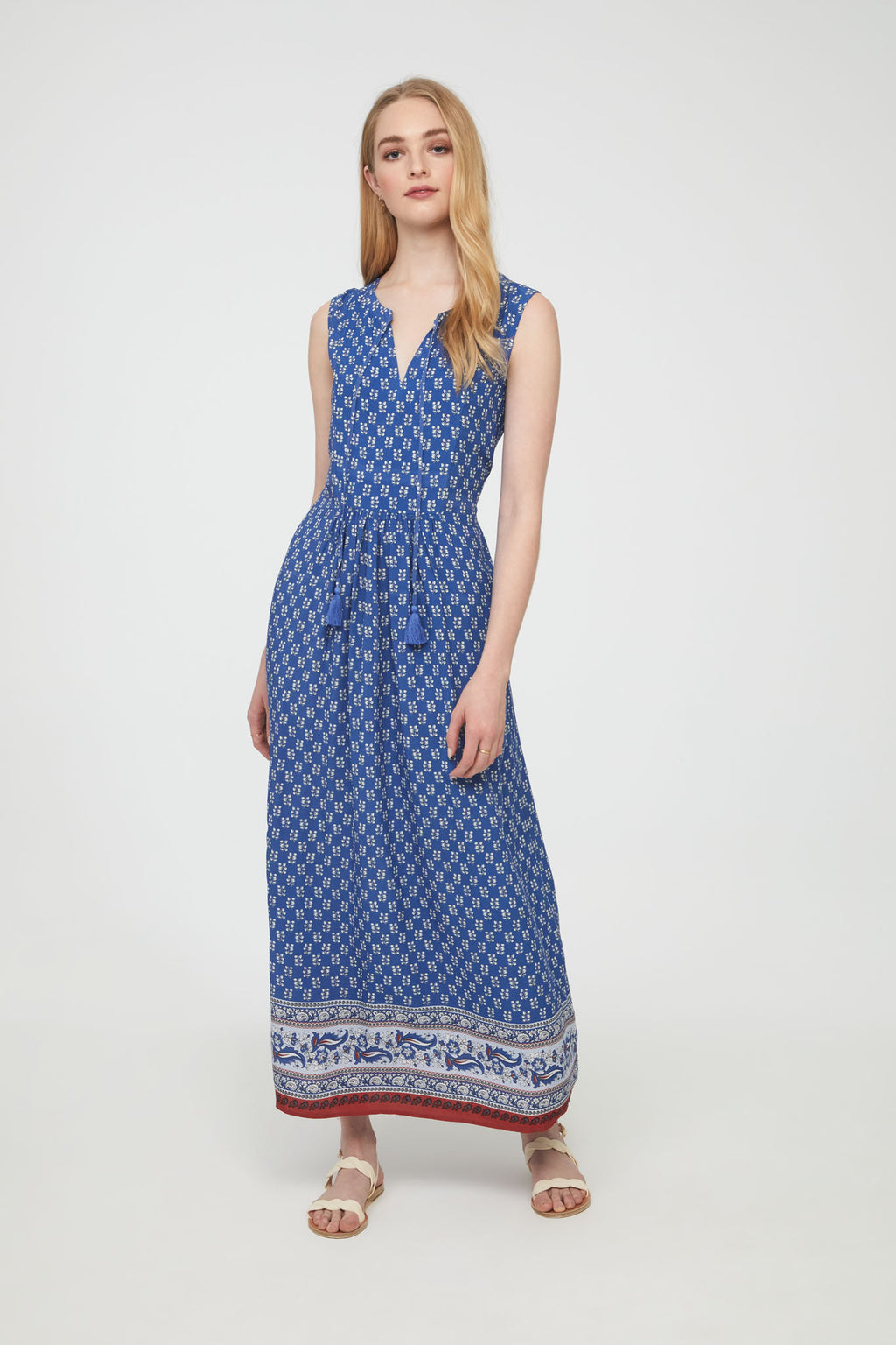 KAMARIN DRESS - ATHENS BLUE