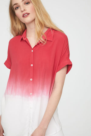 SPENCER SHIRT - ROSE TIE DYE