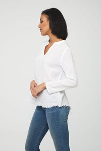 LISA TOP - WHITE
