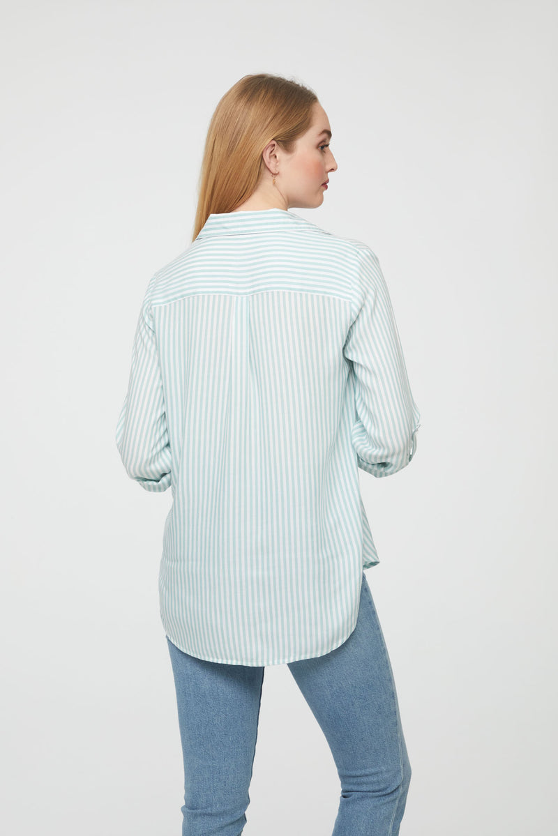 JORDANA SHIRT - CUCUMBER MINT